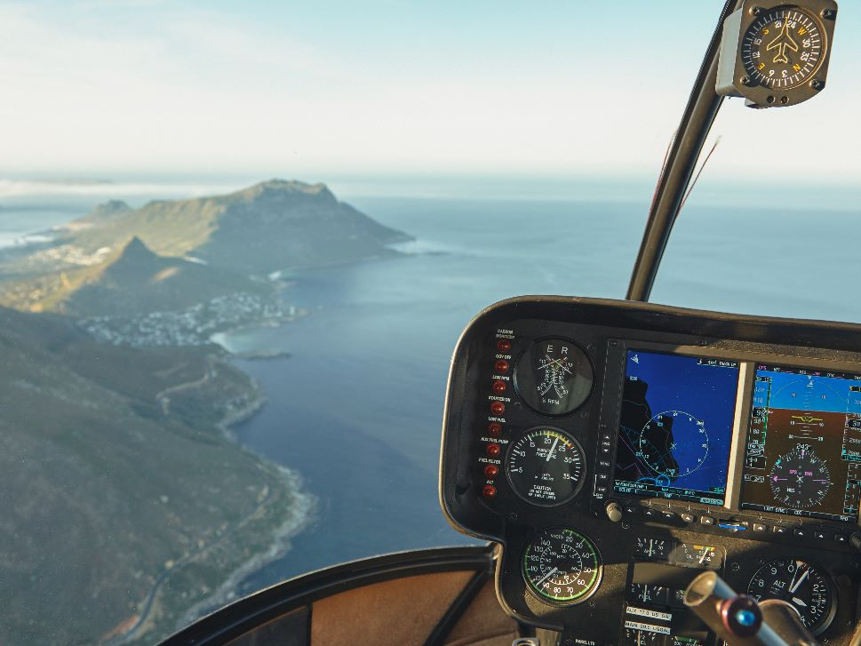 Helicopter Avionics and Cockpit View