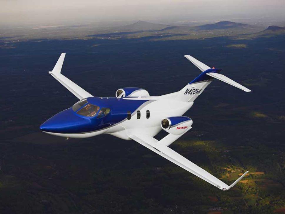 HondaJet In-Flight