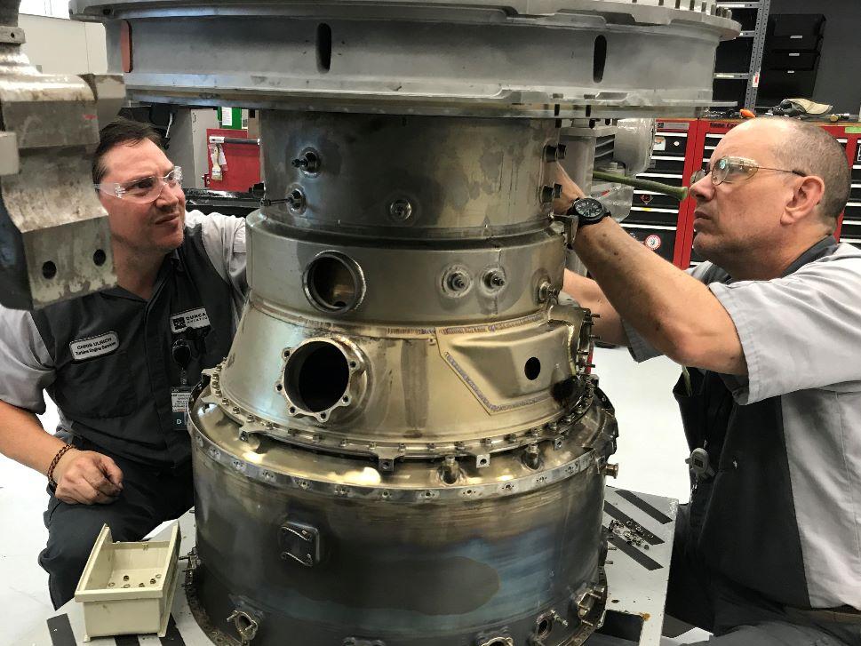 Honeywell TFE731 Jet Engine Storage