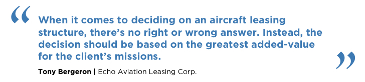 How does an aircraft lease work 1