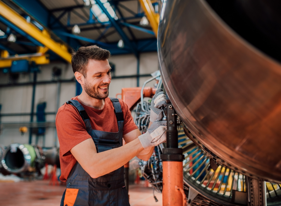 When is business jet engine maintenance needed?