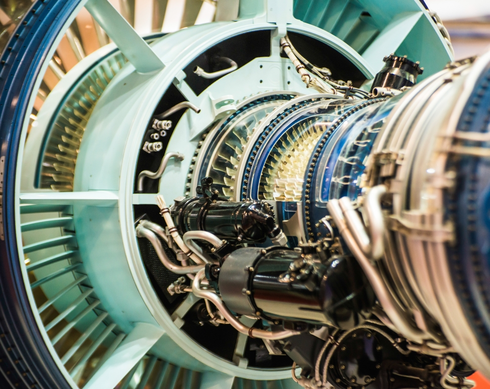 How do business jet engines work?