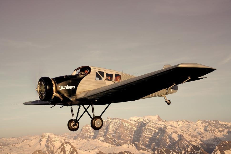 Junkers F 13 In Flight