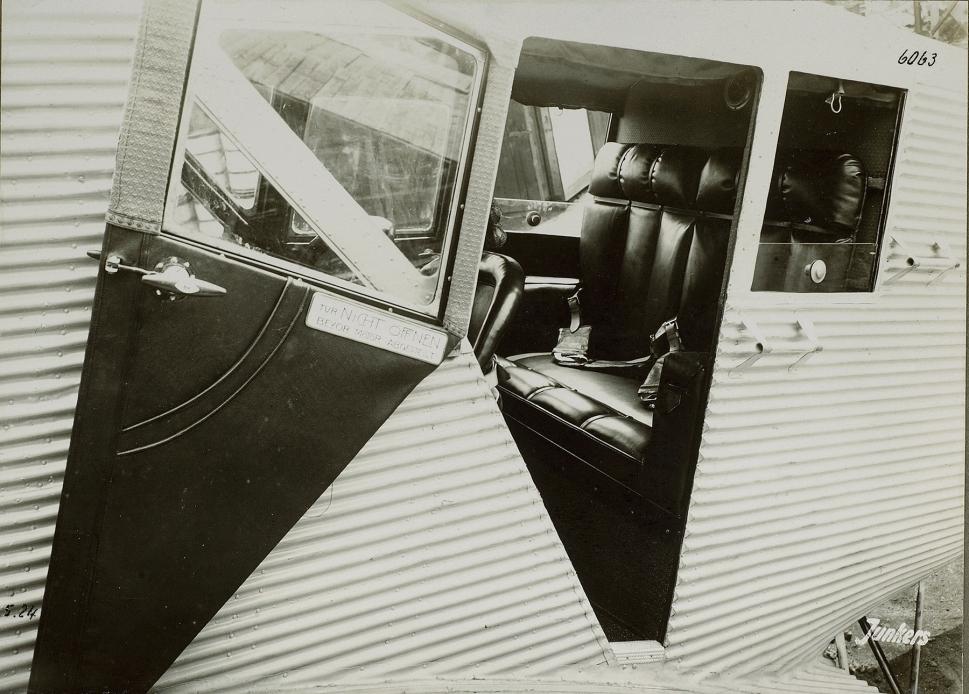 Junkers F 13 Original Interior Photo