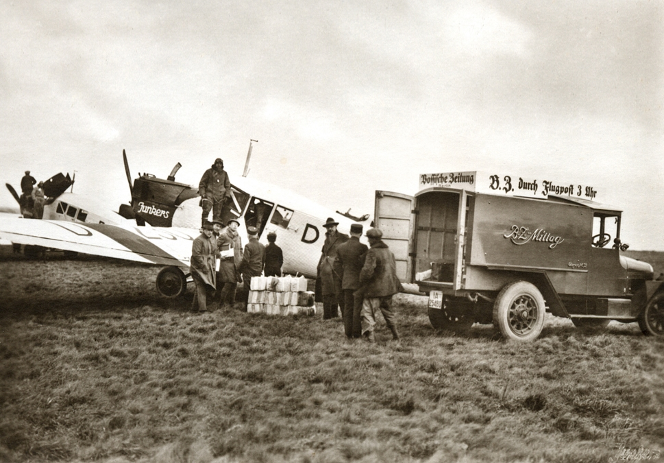 A Vintage Junkers F 13 Aircraft in Peace-Times