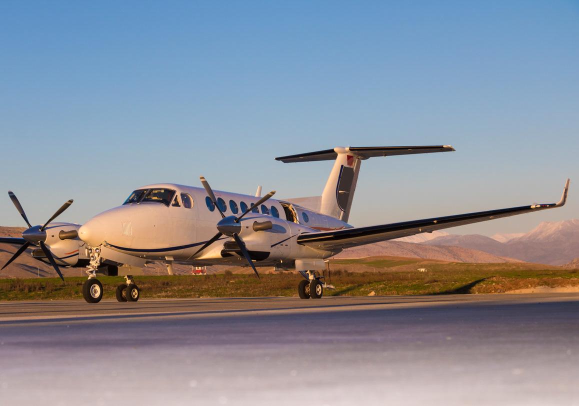 King Air Business Turboprop Aircraft