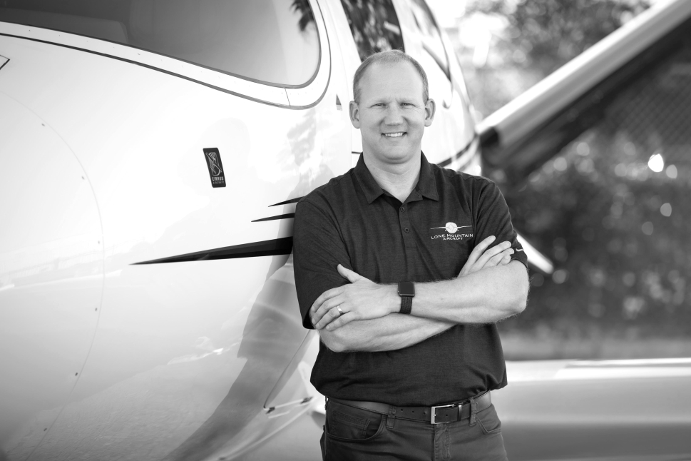 Mark Rogers, founder and president, Lone Mountain Aircraft