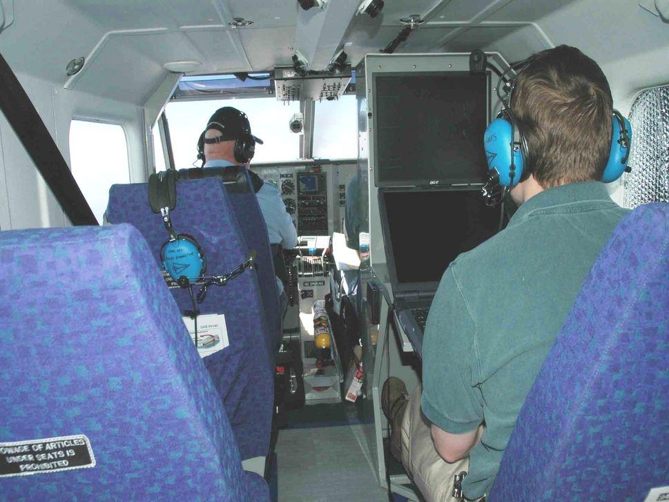 Marops in-flight interior