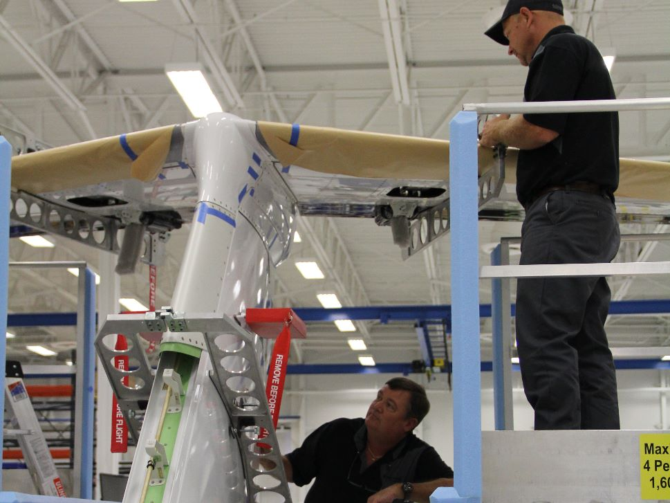 New Jet Manufacture at Embraer