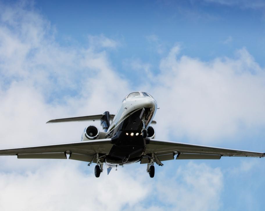 North American Business Jet Flight Activity