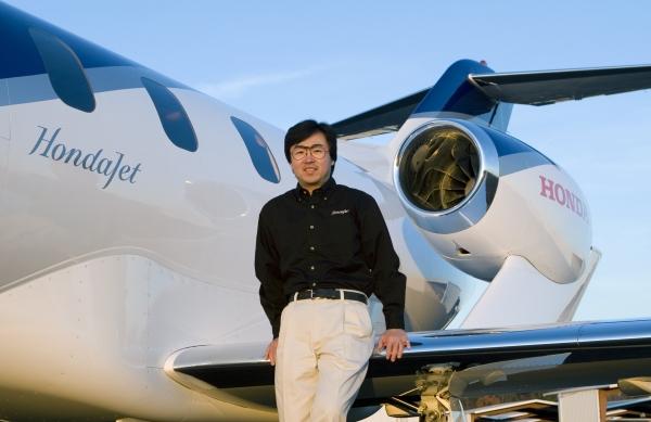 Michimasa Fujino, CEO, HondaJet