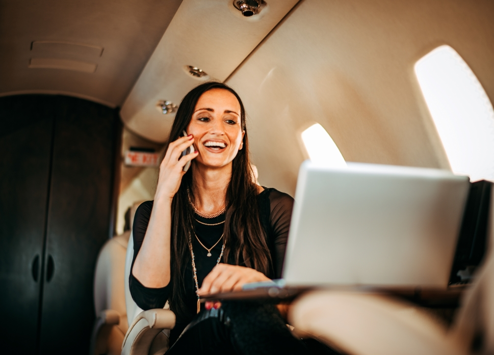 Private Jet Connectivity with AVANCE L5