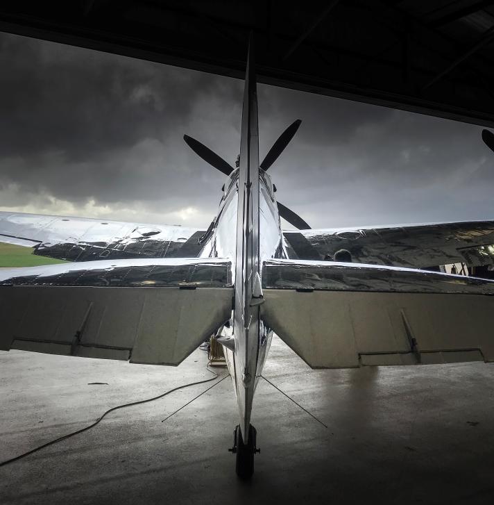Boultbee Flight Academy Silver Spitfire Goodwood