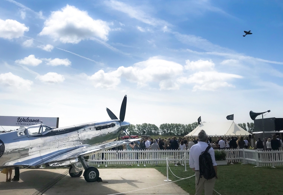 Goodwood Silver Spitfire