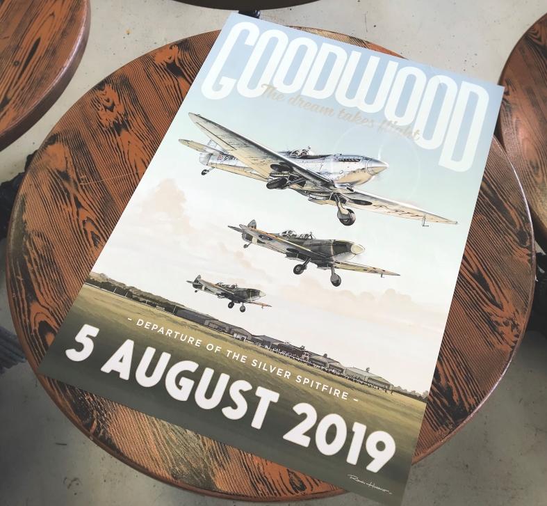 Boultbee Flight Academy Goodwood Silver Spitfire