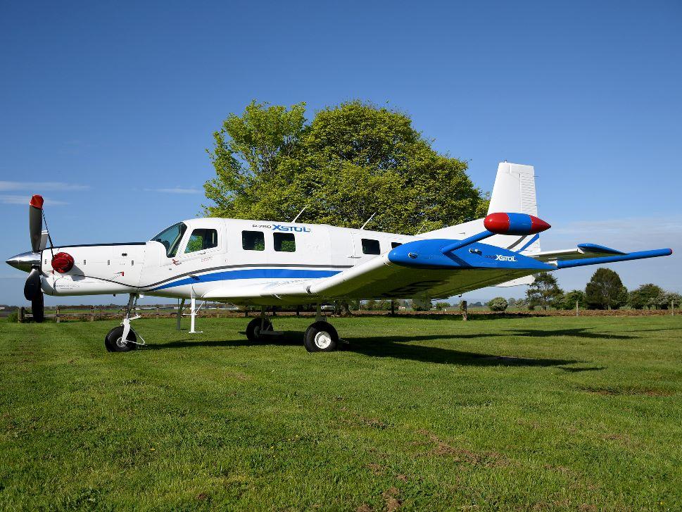 Pacific Aerospace P750 XSTOL turboprop aircraft