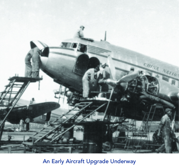 Early Aircraft Upgrade