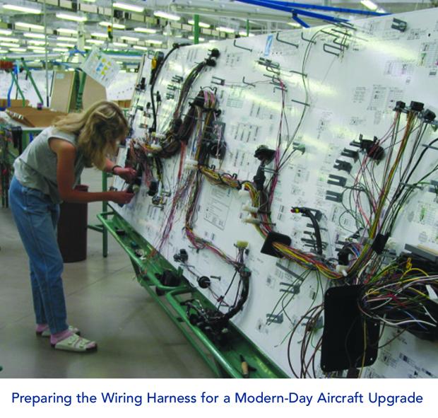 Modern Aircraft Upgrade Wire Harness Preparation