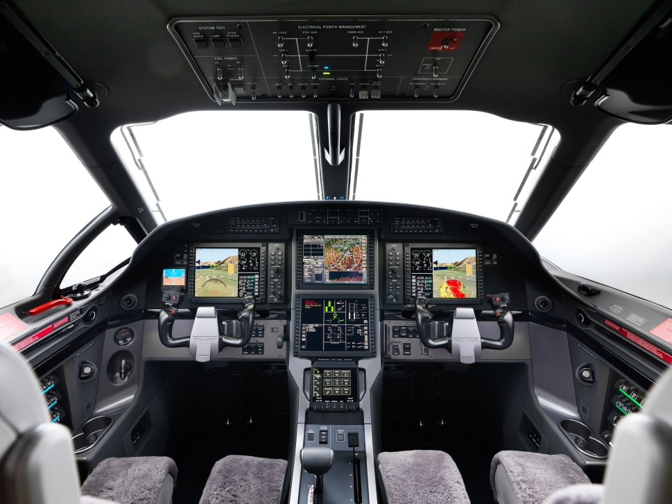 Pilatus PC-12 NG Cockpit Avionics Panel
