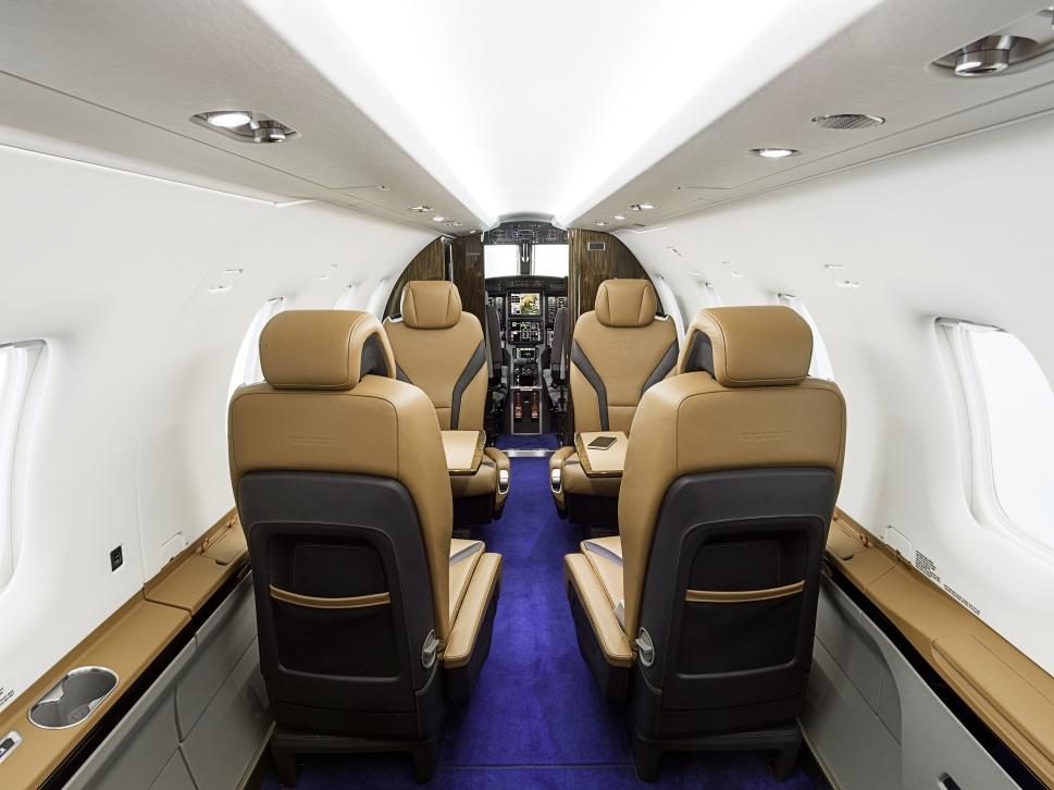 Pilatus PC-12 NGX Enhanced Cabin