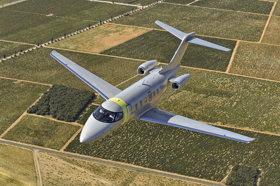 Pilatus PC-24 Super Versatile Jet in Jetfly Colours