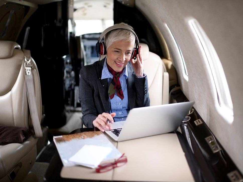 Private jet communications equipment appraisal