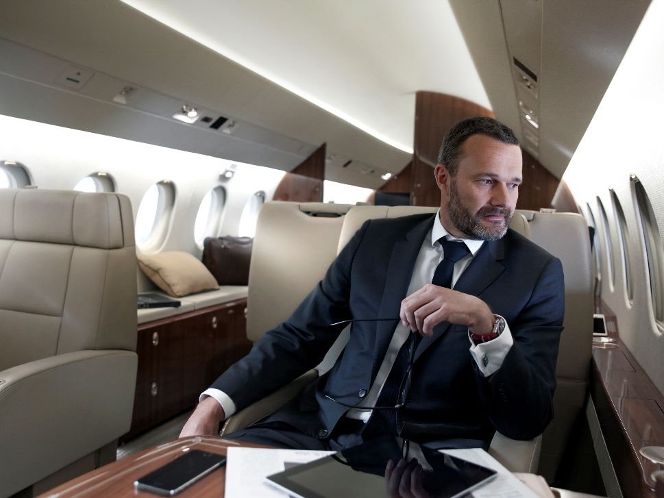 Private Jet Cabin Wi-Fi