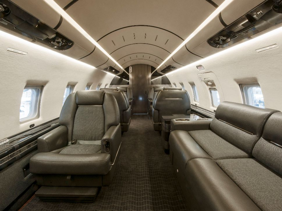 Private Jet New Cabin Refurbishment