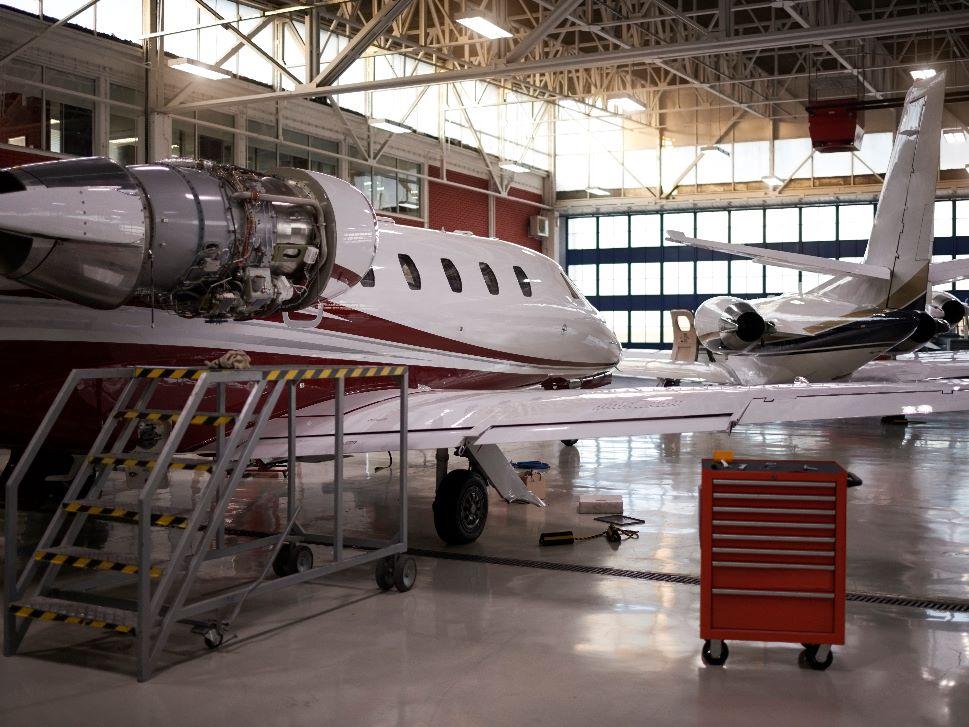 Private Jet Maintenance Hangar