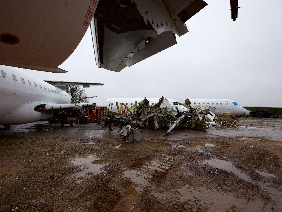 Private Jet Scrap Value