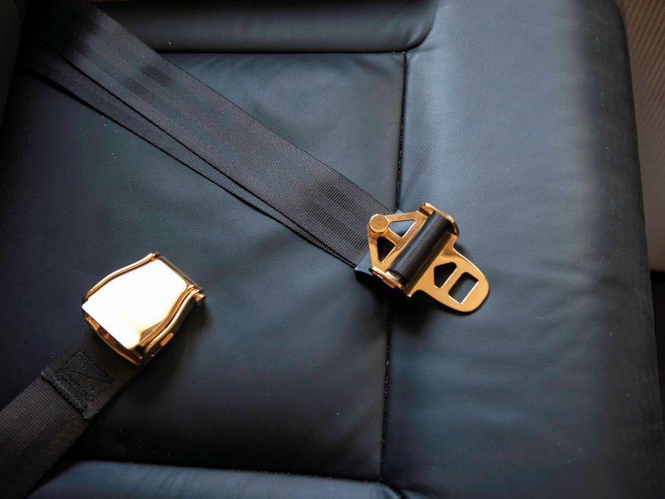 Private Jet Interior Leather Condition