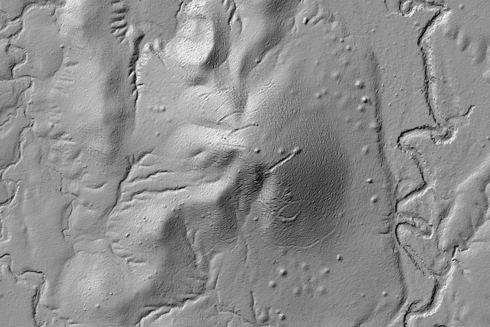 RIGEL Remnants of a mini-goldrush from 100 years ago LiDAR DTM