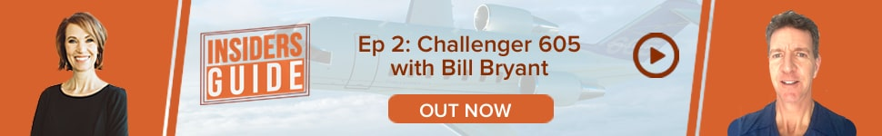 Watch Insiders' Guides Ep 2: Bombardier Challenger 605 with Bill Bryant