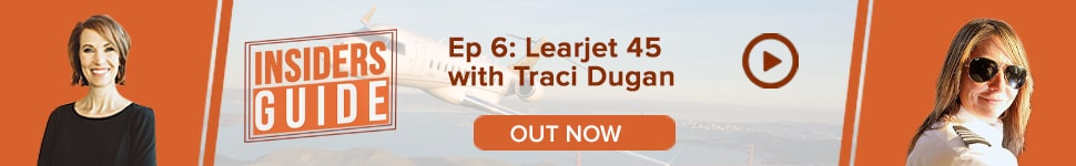Watch Insiders' Guide Ep 6: Bombardier Learjet 45 with Traci Dugan