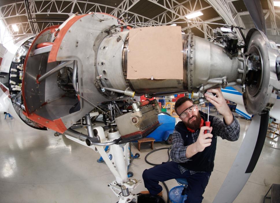 When is Turboprop Engine maintenance needed?