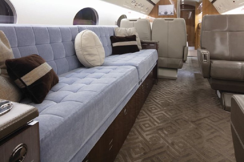 Gulfstream GIV mid-cabin section 14 years later