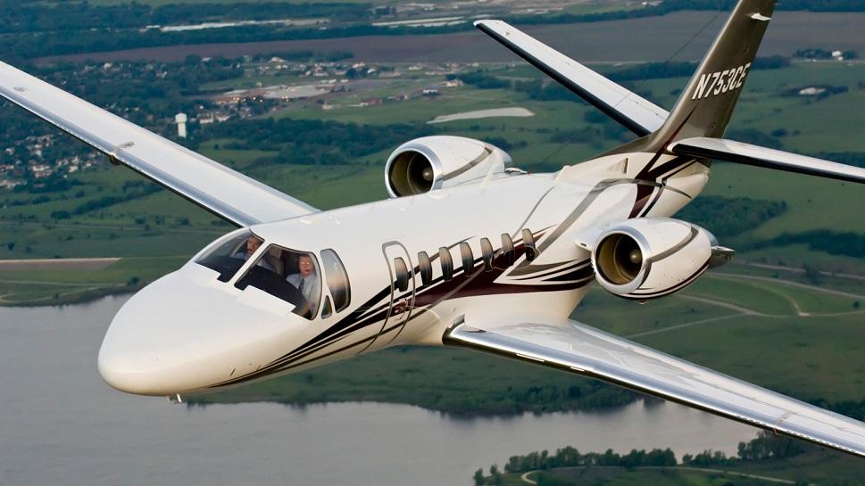 Cessna Citation V Ultra photographed in flight