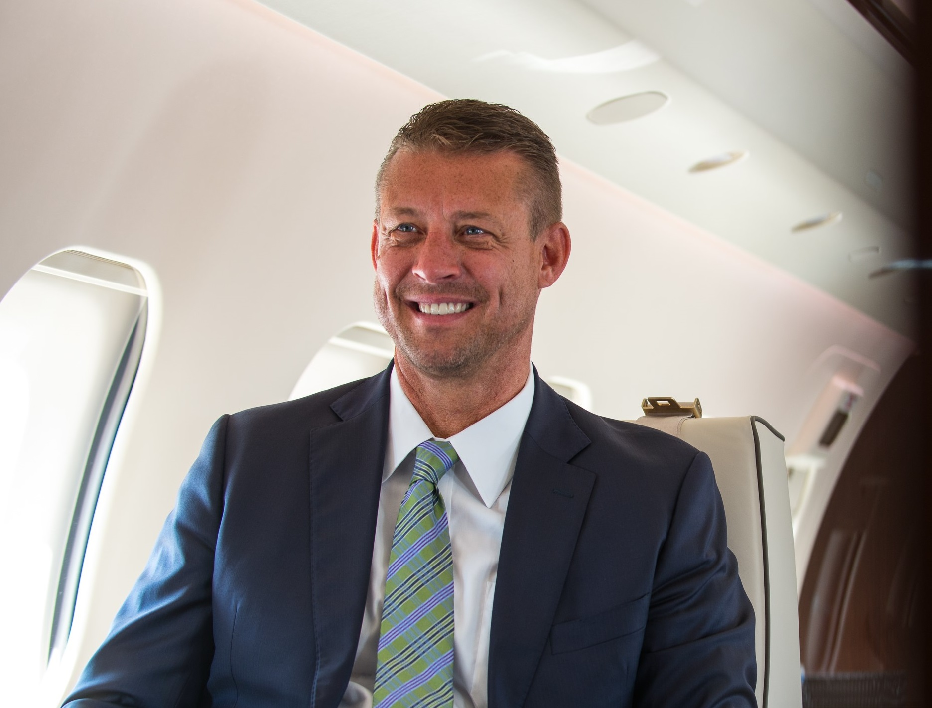 Chad Anderson, President of Jetcraft