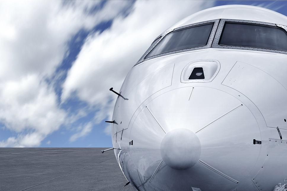 Private jet nose cone