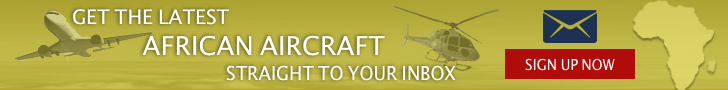 Get the latest African aircraft sent to your inbox
