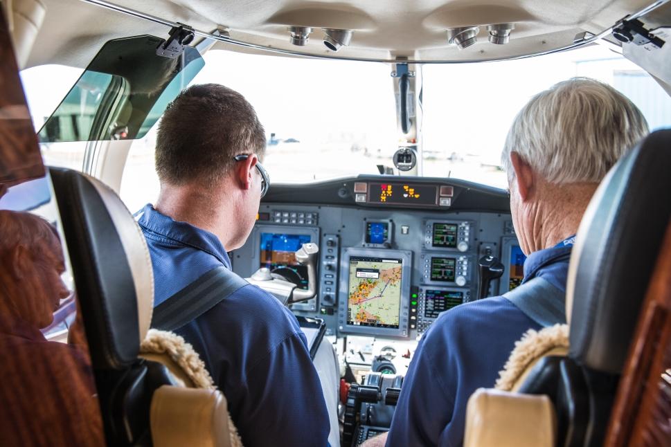 Satcom Direct's FlightDeck Freedom is designed to streamline pilot workload