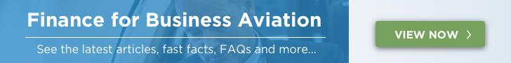 Finance for Business Aviation Banner