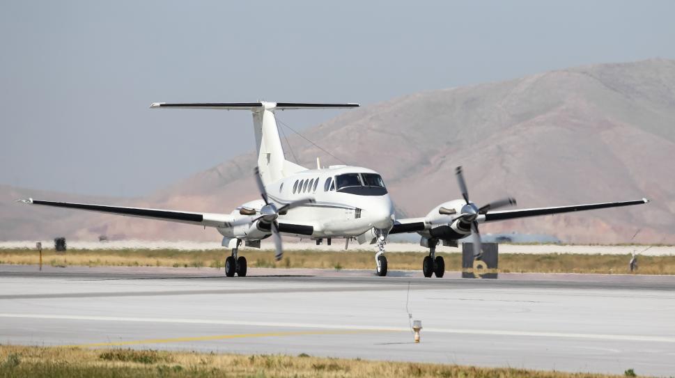 Beechcraft King Air twin-engine turboprop aircraft